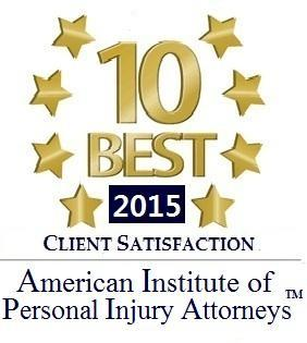 2015 Client Satisfaction Award | Nicholson Revell Augusta GA Attorneys